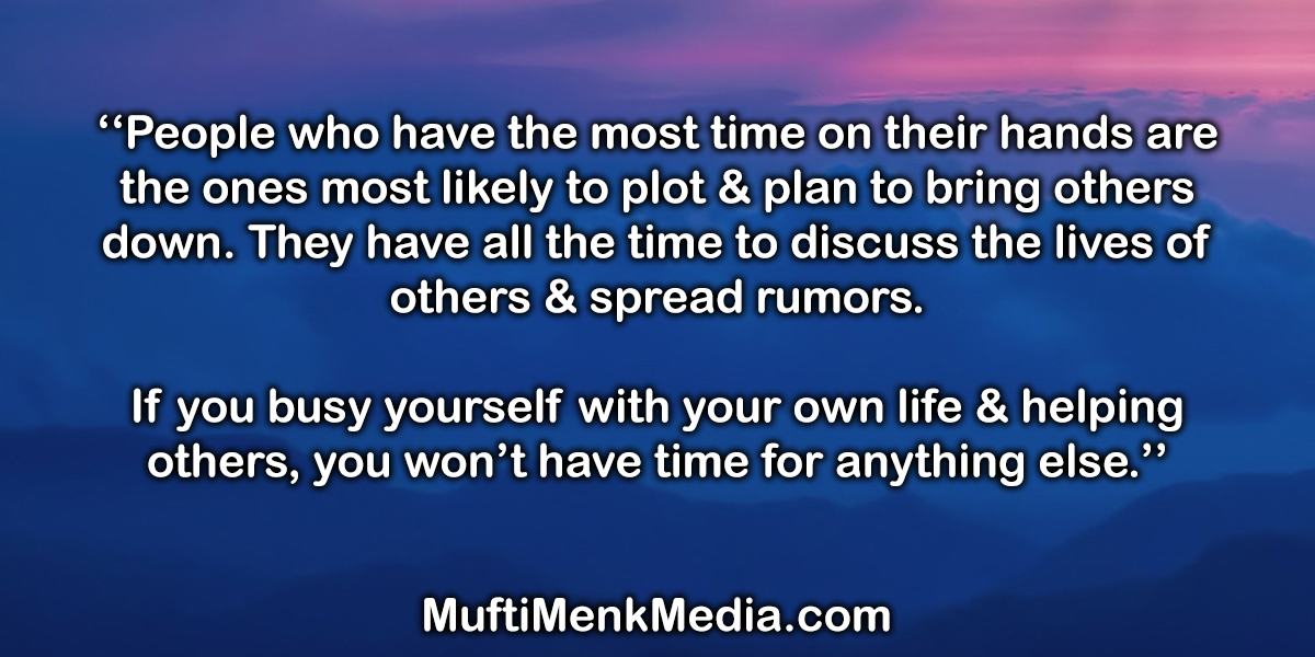 Mufti Menk Media | Motivational Quote